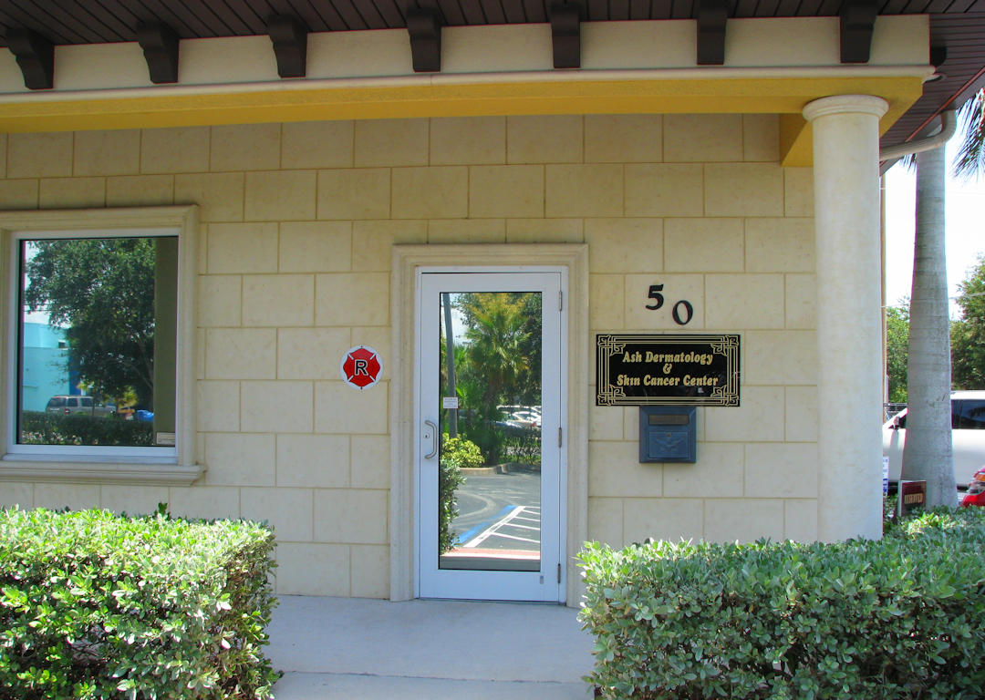 Ash Dermatology Office Entrance